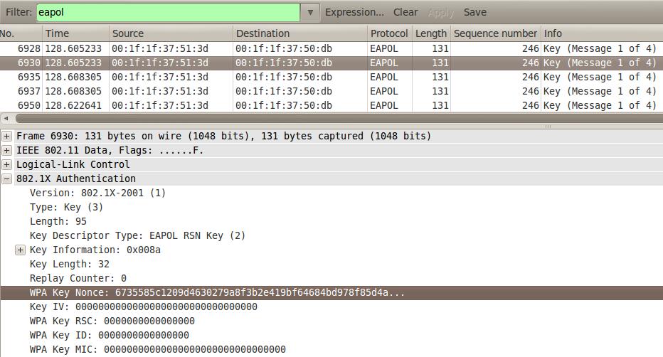 William – WPA/WPA2 4-way handshake extraction script   Explore Security